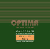 OPTIMA STRUNY DO GITARY AKUSTYCZNEJ BRONZE STRINGS