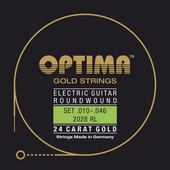 OPTIMA GITARA ELEKTRYCZNA STRUNY GOLD STRINGS ROUND WOUND