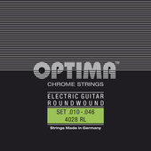 OPTIMA E-GITARRE-SAITEN CHROME STRINGS ROUND WOUND