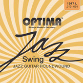 OPTIMA E-GITAARSNAREN JAZZ SWING SERIES ROUND WOUND