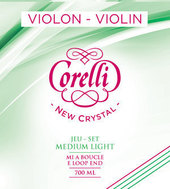 CORELLI STRINGS FOR VIOLIN NEW CRYSTAL