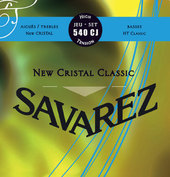 SAVAREZ CORDES  GUITARE CLASSIQUE NEW CRISTAL CLASSIC 540 CJ
