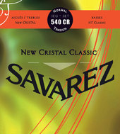SAVAREZ STRINGS FOR CLASSIC GUITAR NEW  CRISTAL CLASSIC 540 CR