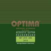 OPTIMA STRINGS FOR ACOUSTIC GUITAR BRONZE STRINGS