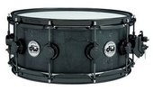 DRUM WORKSHOP SNARE DRUM BLACK IRON