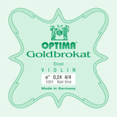 OPTIMA STRINGS FOR VIOLIN LENZNER GOLDBROKAT VIOLIN
