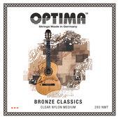 OPTIMA STRINGS FOR CLASSIC GUITAR BRONZE CLASSICS