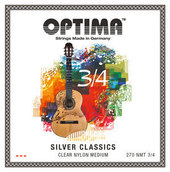OPTIMA STRINGS FOR CLASSIC GUITAR SILVER CLASSICS  GUITAR STRINGS FOR CHILDREN