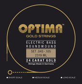 OPTIMA SAITEN FÜR E-BASS GOLD STRINGS ROUND WOUND