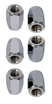 LATIN PERCUSSION TUNING LUGS & TENSION RODS ACCESSORIES SUPER NUTS