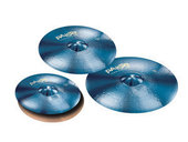 PAISTE SET DE CYMBALES 900 SERIE COLOR SOUND BLUE