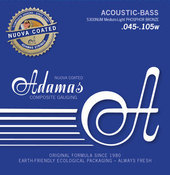 ADAMAS STRINGS FOR ACOUSTIC BASS##%BR## NUOVA COATED