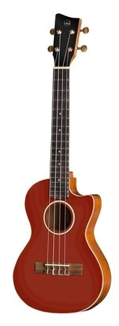 GEWA TENOR E-ACOUSTIC UKULELE MANOA ROADIE R-TE-CE-CANDY