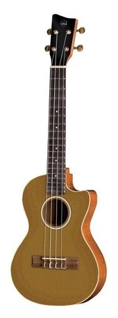 GEWA TENOR E-ACOUSTIC UKULELE MANOA ROADIE R-TE-CE-GOLD