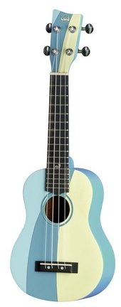GEWA SOPRAN UKULELE MANOA W-SO-BL