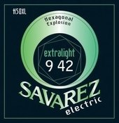 SAVAREZ CORZI CHITARA ELECTRICA HEXAGONAL EXPLOSION NICKEL
