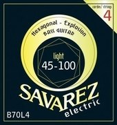 SAVAREZ E-BASS STRINGS HEXAGONAL EXPLOSION