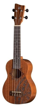 GEWA SOPRANO UKULELE MANOA KALEO TATTOO KT-SO-INCA
