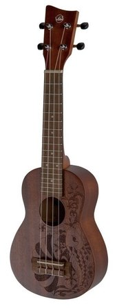 VGS UKELELE SOPRANO MANOA KALEO TATTOO KT-SO-NIPPON