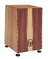 LATIN PERCUSSION CAJON AMERICANA ANGLED IN CEDRO MASSELLO