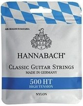 HANNABACH CORDES GUITARE CLASSIQUE SERIE 500 HIGH TENSION