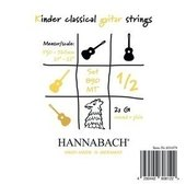 HANNABACH STRINGS FOR CLASSIC GUITAR SERIE 890 1/2 CLASSIC GUITAR FOR CHILDREN DUEL: 53-56 CM