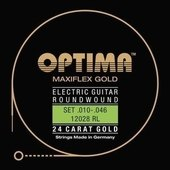 OPTIMA STRINGS FOR ELECTRIC GUITAR GOLD STRINGS. MAXIFLEX