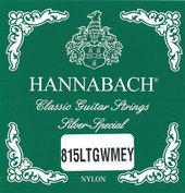 HANNABACH STRINGS FOR CLASSIC GUITAR SERIES 815 LOW TENSION SILVER SPECIAL