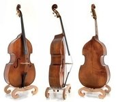 GEWA MADE IN GERMANY DOUBLE BASS MEISTER RUBNER MODEL NO. 67