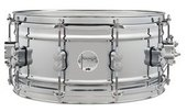 PDP BY DW SNARE DRUM CONCEPT  CHROME OVER STEEL