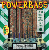 THOMASTIK-INFELD E-BASS STRINGS POWER BASS MAGNECORE ROUND WOUND HEXCORE