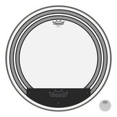 REMO DRUM HEAD POWERSONIC CLEAR BASS DRUM