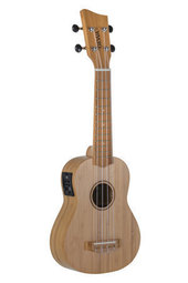 GEWA SOPRANO E-ACOUSTIC UKULELE MANOA K-SO-BBE