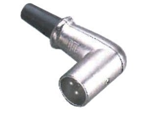 GEWA Konektor XLR - XLR(male) zahnutý Jack