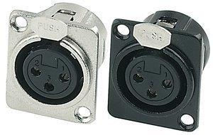 GEWA Konektor XLR - XLR(female) vystavěný výstup