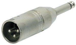 GEWA Adaptér - XLR(male) - 6,3 mm Mono Jack