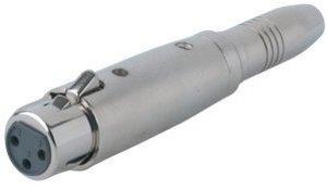 GEWA Adaptér - 6,3 mm Stereo zdířka - XLR(female)