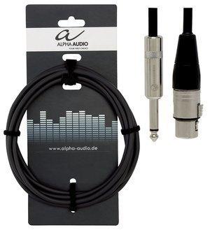 GEWA - Kabel pro mikrofon Pro Line (XLR(female) - 6,3 mm Mono Jack)