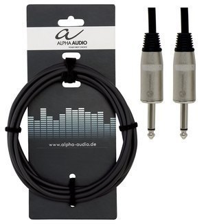 GEWA - Kabel pro reproduktor Pro Line (6,3 mm Mono Jack - 6,3 mm Mono Jack)