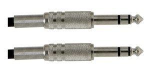 GEWA - Kabel pro nástroje stereo Basic Line (stereo konektor 6,3 mm - stereo konektor 6,3 mm)