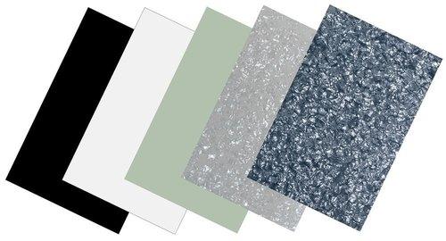 Partsland Schlagbrett Kunststoffplatte pearl-grey, 3-lagig