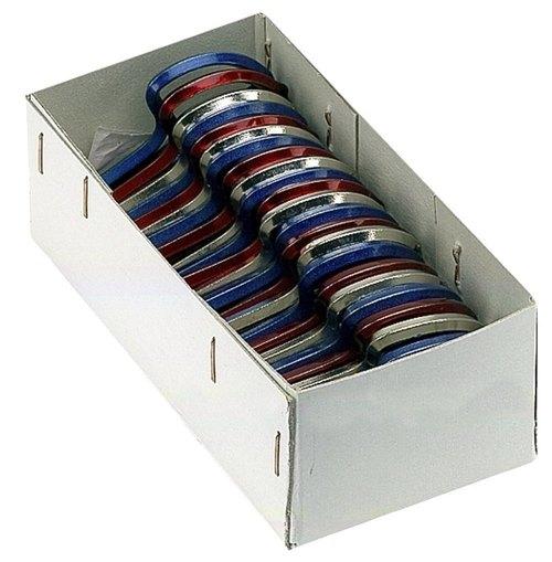 Original Schwarz Maultrommel Display-Box 65mm, Nr. 8