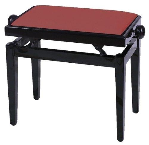 PURE GEWA Pianobank FX Mahagoni Hochglanz Sitz bordeaux