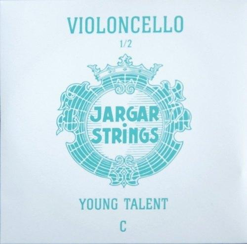 Jargar Cello-Saiten YOUNG TALENT - kleine Mensuren C 1/2 medium