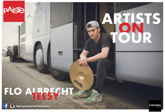 FLORIAN ALBRECHT MIT TEESY ON TOUR